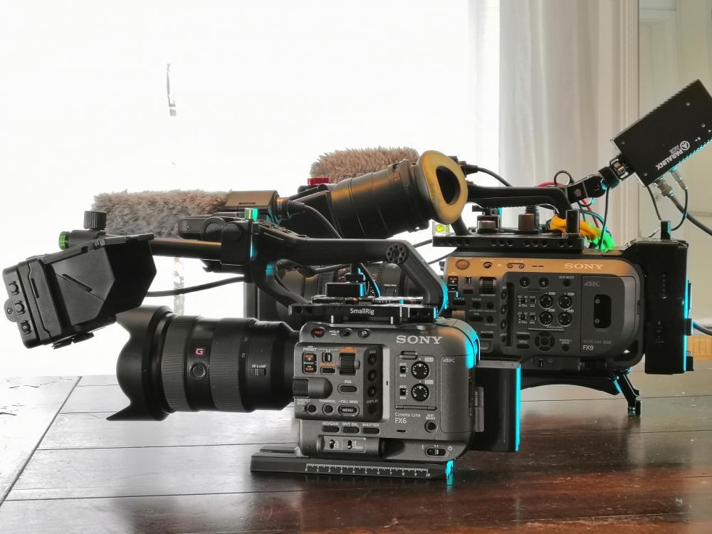 Sony FX6 Vollformat Kamera Cine-Line